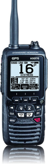 STANDARD HORIZON VHF RADIO FLOATING GPS