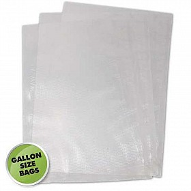"WESTON 11""X16"" GALLON VACUUM SEAL BAG 20PK"