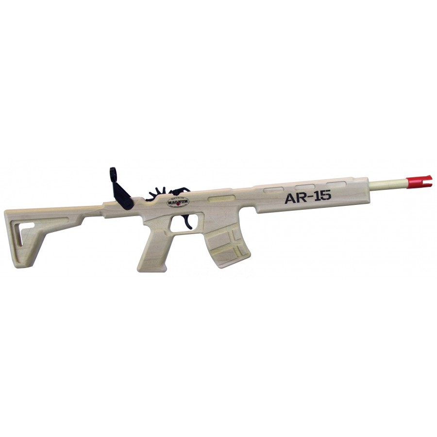 AR 15 RIFLE (BLUE AMMO)