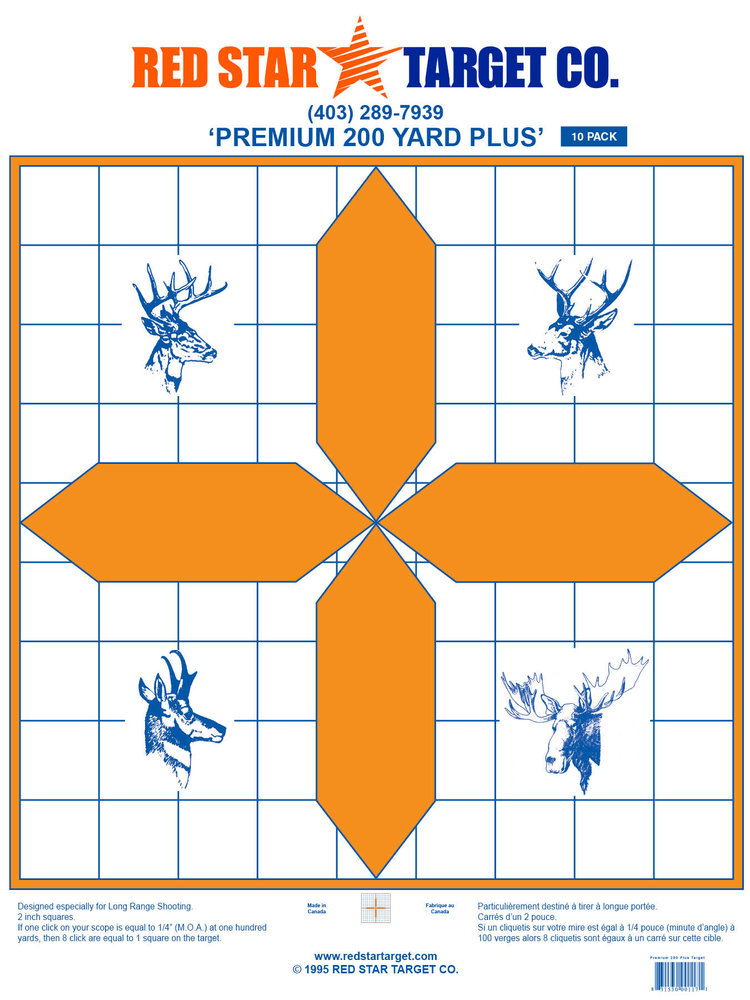 RED STAR PREMIUM 200 PLUS TARGET 10 PACK
