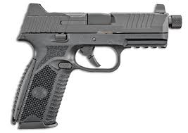 FN  509 TACTICAL 9MM SEMI AUTOMATIC PISTOL, BLACK