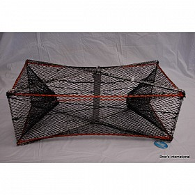 PACIFIC ELECTRO PLATED STEEL FOLDING PRAWN TRAP