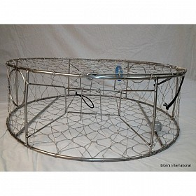 PACIFIC STAINLESS STEEL 30 INCH CRAB TRAP
