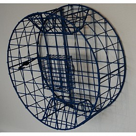 PACIFIC RIGID ROUND VINYL COATED STEEL 26 INCH CRAB TRAP