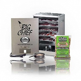 SMOKEHOUSE BIG CHIEF FRONT LOAD SMOKER 9894