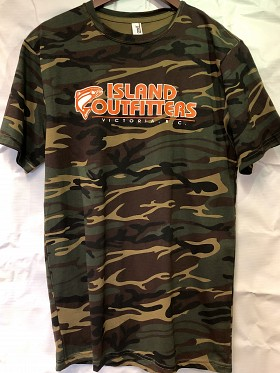 ISLAND OUTFITTERS ANVIL CAMO T-SHIRT