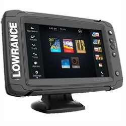 LOWRANCE ELITE 7 TI MID/HIGH NAV+