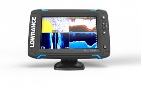 LOWRANCE ELITE 7 T1 MID/HIGH/TOTALSCAN