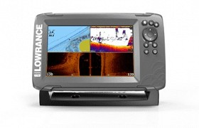 LOWRANCE HOOK 2-7 TRIPLE SHOT NAV+ BUNDLE
