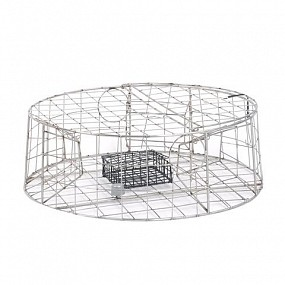 PACIFIC STAINLESS STEEL WELDED WIRE CRAB TRAP