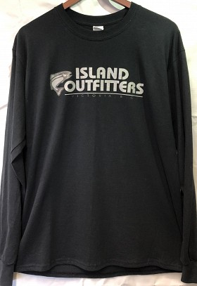 ISLAND OUTFITTERS LONGSLEEVE BLACK AND GREY