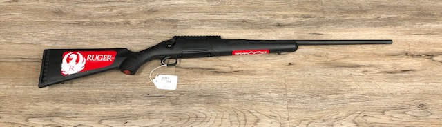 RUGER AMERICAN, BLK/BLUED .243 WIN